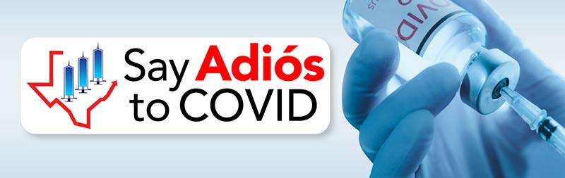 Say Adios to Covid